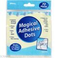 "КЛЕЙ ТОЧКАМИ Magical Adhesive Dots .5""X.5"" 72/Pkg"