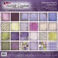 "1/2 набора бумаги Heartfelt Double-Sided Paper Collection 12""X12""  Delicate Asters НЕЖНЫЕ АСТРЫ"